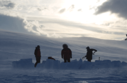 Snow Fortress: How to Build an Igloo