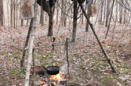Cooking in the Sticks- Building a Bushcraft Kitchen