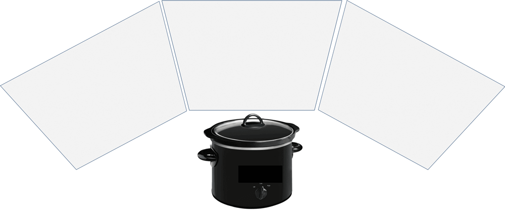 Panel cookers use easy to construct and lightweight reflector panels that are easy to use to focus the solar radiation onto your cooking vessel.