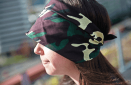 Homemade Shade: Making a Visor Out of a Bandana