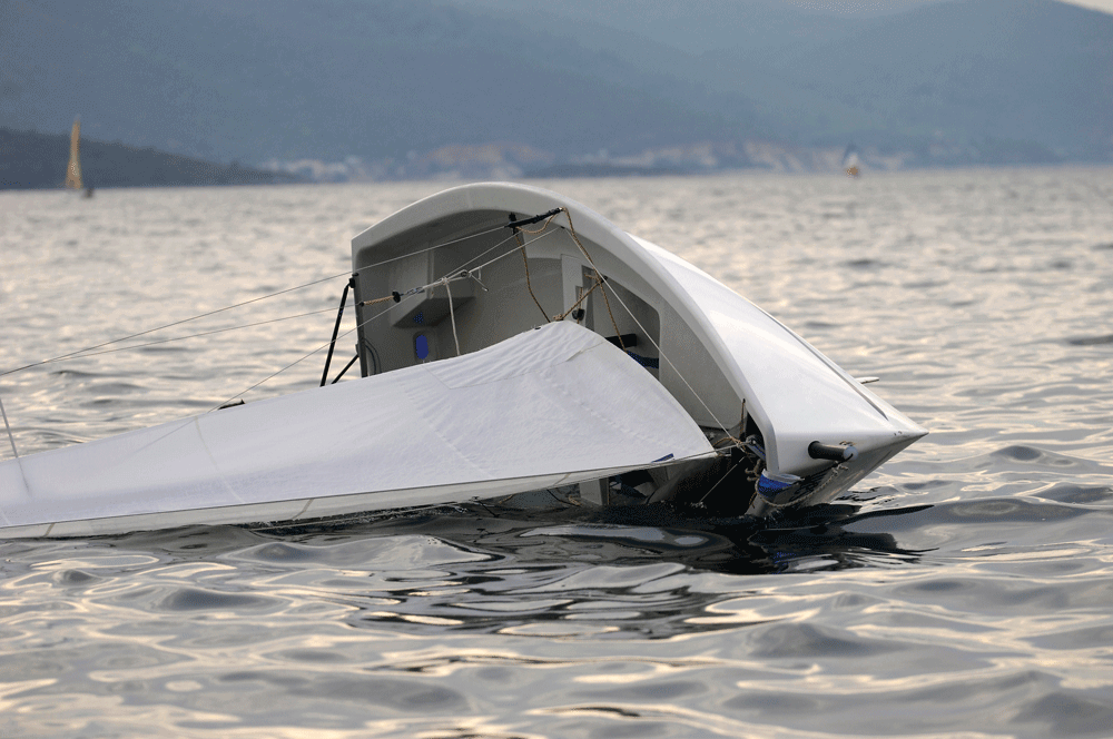 If disaster strikes on the water, you need to know how to save yourself. Help won't always be nearby.