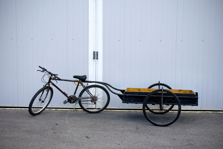 A trailer can increase a bicycle's carrying capacity, and will enable you to pull larger and bulkier loads.