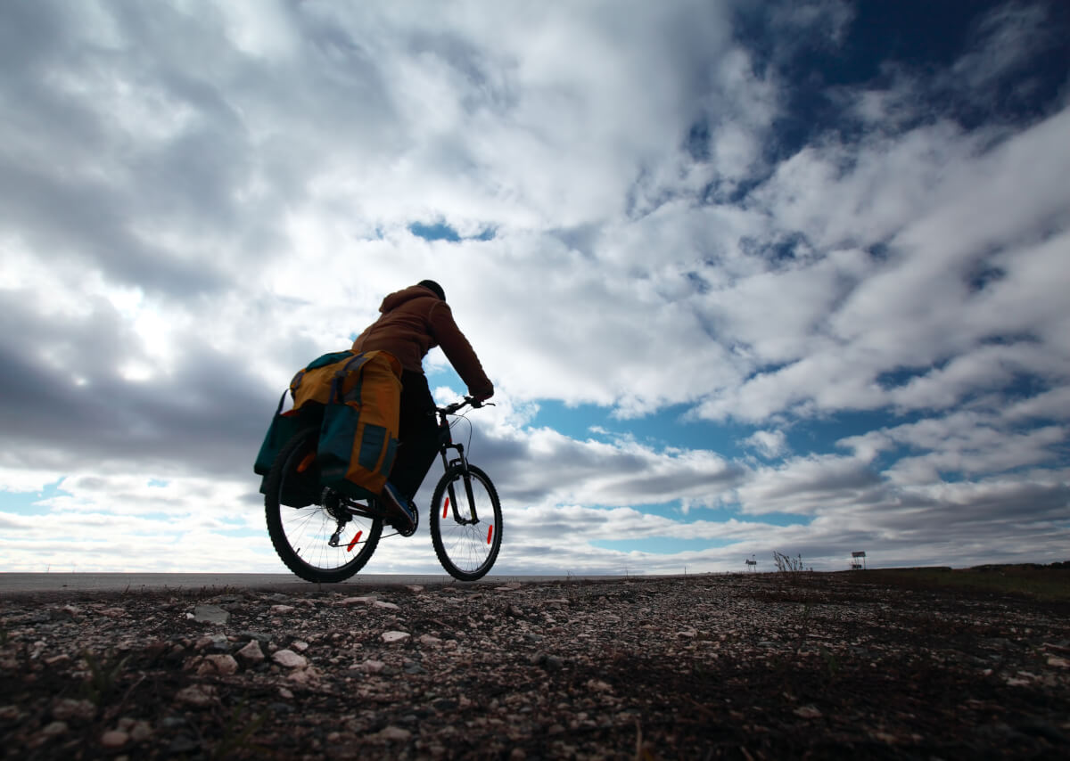 In the right setting and with the proper equipment, a bicycle can be an alternative to motorized vehicles