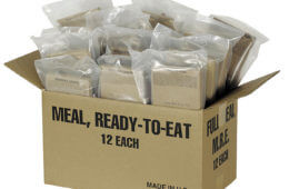 Food for Thought: MREs
