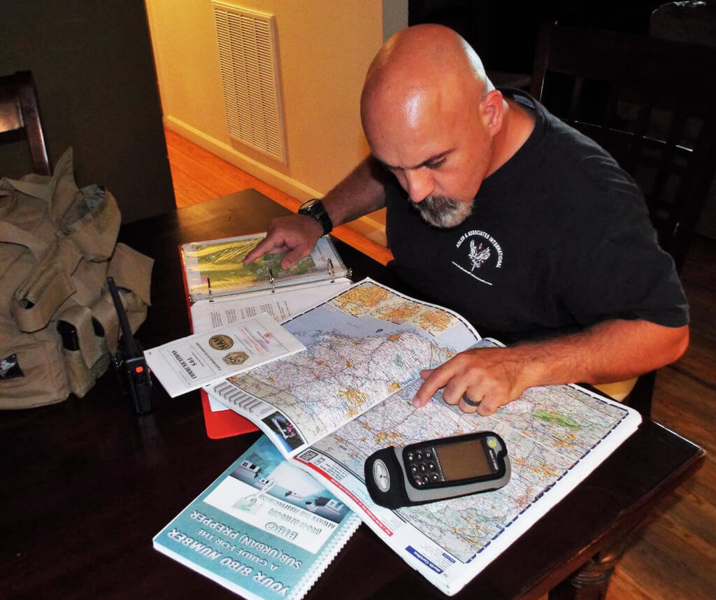 Careful route planning and multiple practice runs will pay big dividends when trouble comes your way.