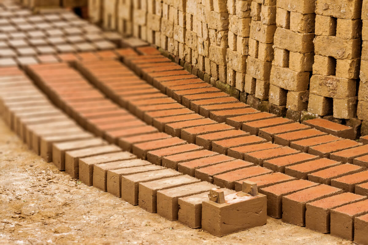 Image result for mud bricks making