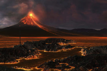 Fountains of Fire: Surviving a Volcano Eruption