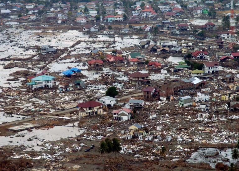 Tsunami wreaks havoc on Southeast Asia - Dec 26, 2004.