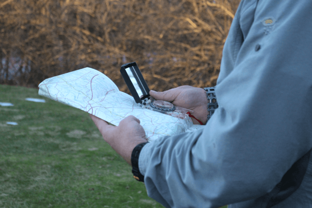 Constantly checking your map to compass will help assure you are on the right path. (Photo by Tonya Salzman)
