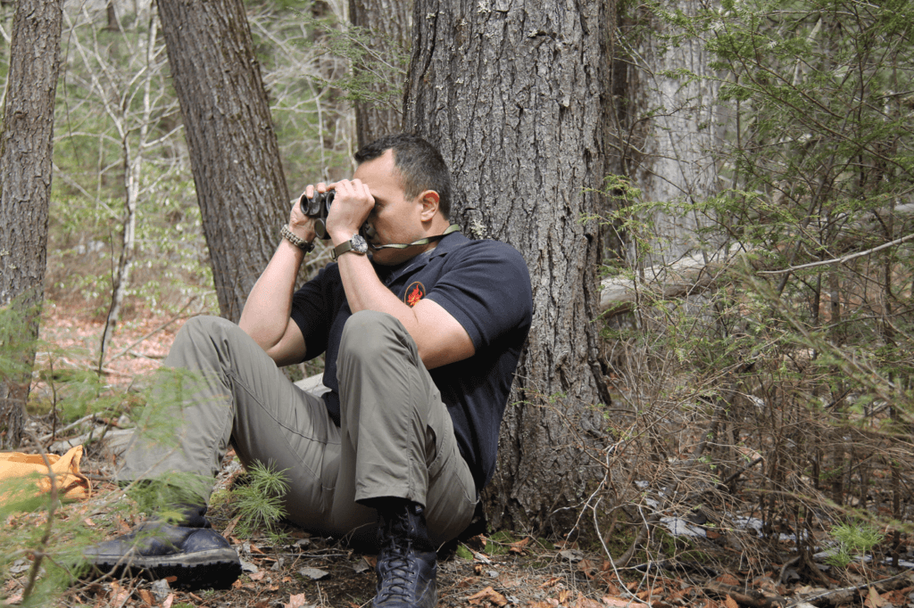 Binoculars extend the range of the human eye. Rather than walking closer to a potentially dangerous situation, bring it closer to you with a good set of optics.