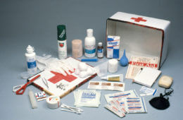 Aid to the Injured: First Aid Supplies And Knowledge Can Save A Life