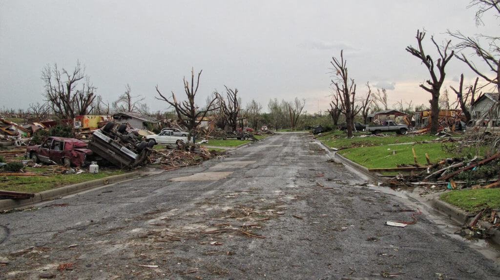 Finding shelter quickly might be your only option in surviving a tornado. The EF5 twister that tore through Joplin, Missouri, in 2011 was nearly a mile wide.