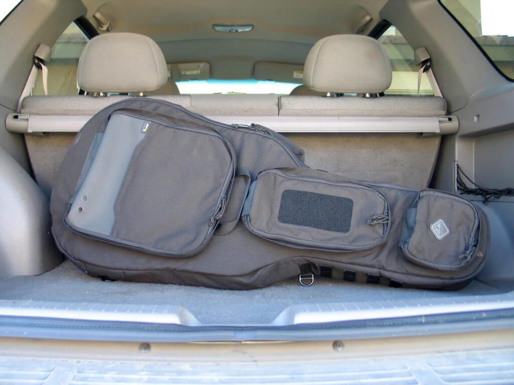 """To most, this is merely a nice guitar case that invariably contains a nice guitar, However, hidden in plain sight inside this """"guitar"""" case can be a small collection of weapons that draws no more attention than a guitar case. Comes in black or coyote beige"""
