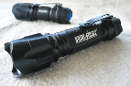 The Blue Dot: Brite-Strike's Tactical Touch Flashlights