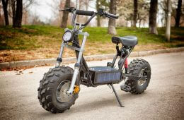 Get Outta Dodge: The Beast, a Solar-Powered eBike