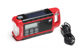Get the 411: Midland ER200 Emergency Crank Weather Radio