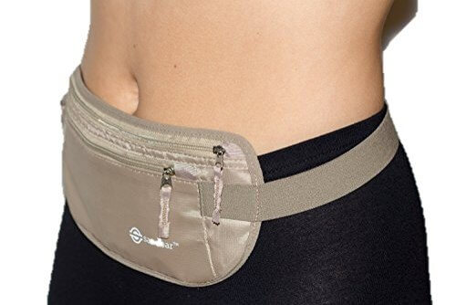 A travel money belt, where you can hold money while giving a fake wallet to muggers