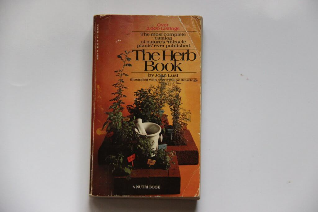 The Herb Book, a survival book John Lust
