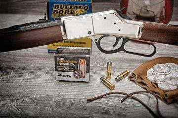 The Cowboy Way: Henry's New Big Boy Silver Rifle