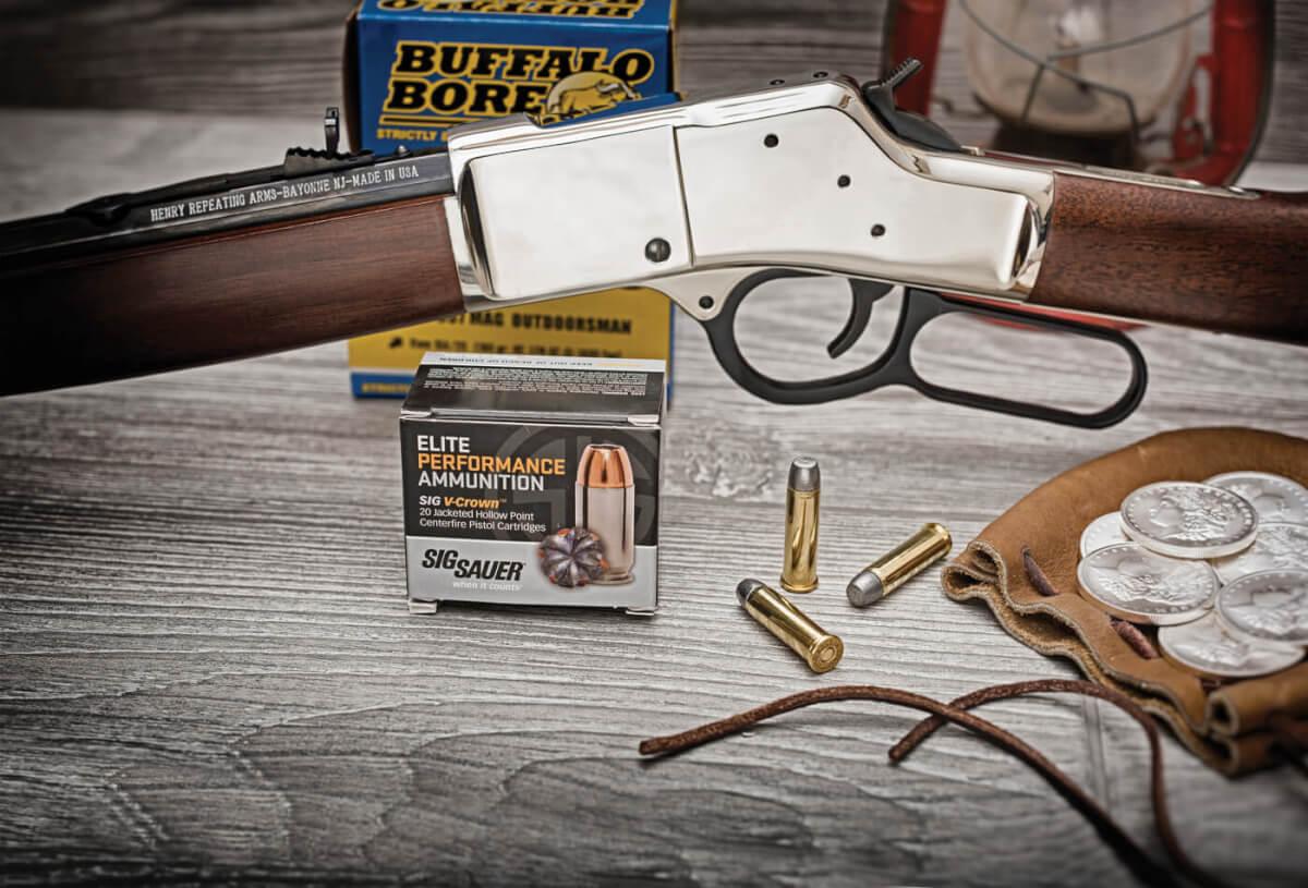 The Cowboy Way: Henry's New Big Boy Silver Rifle - American