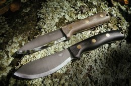 ALONE with L.T. Wright Handcrafted Knives