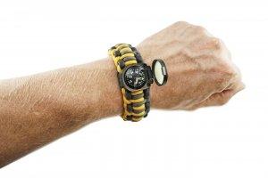 Wazoo Survival Gear Adventure Survival Bracelet