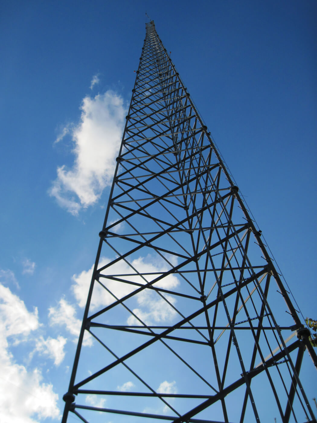 270-foot radio tower