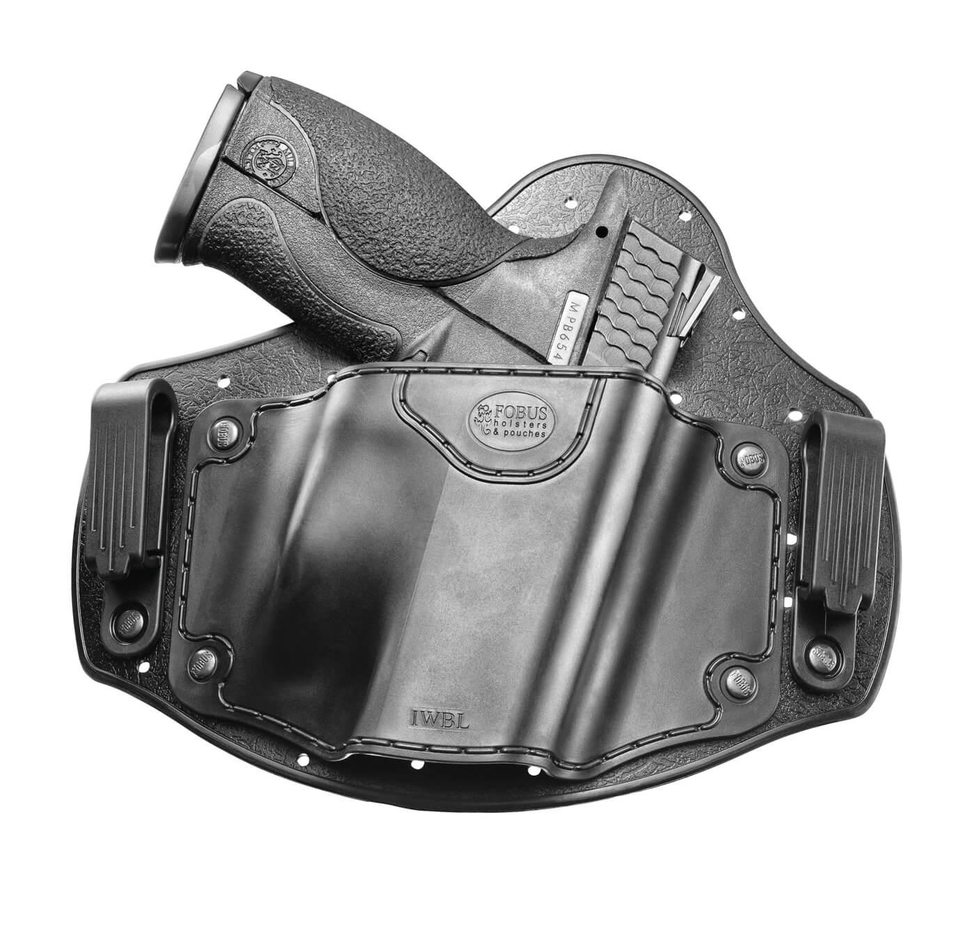 M&P pistol in Fobus IWB holster