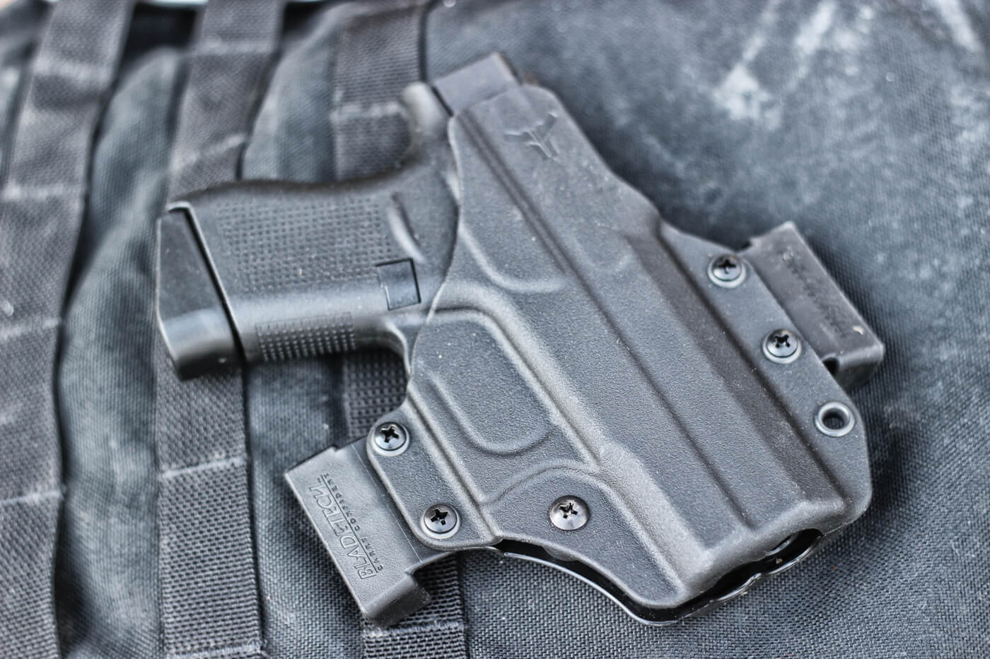 Glock 43 in Blade-Tech Eclipse OWB CCW holster