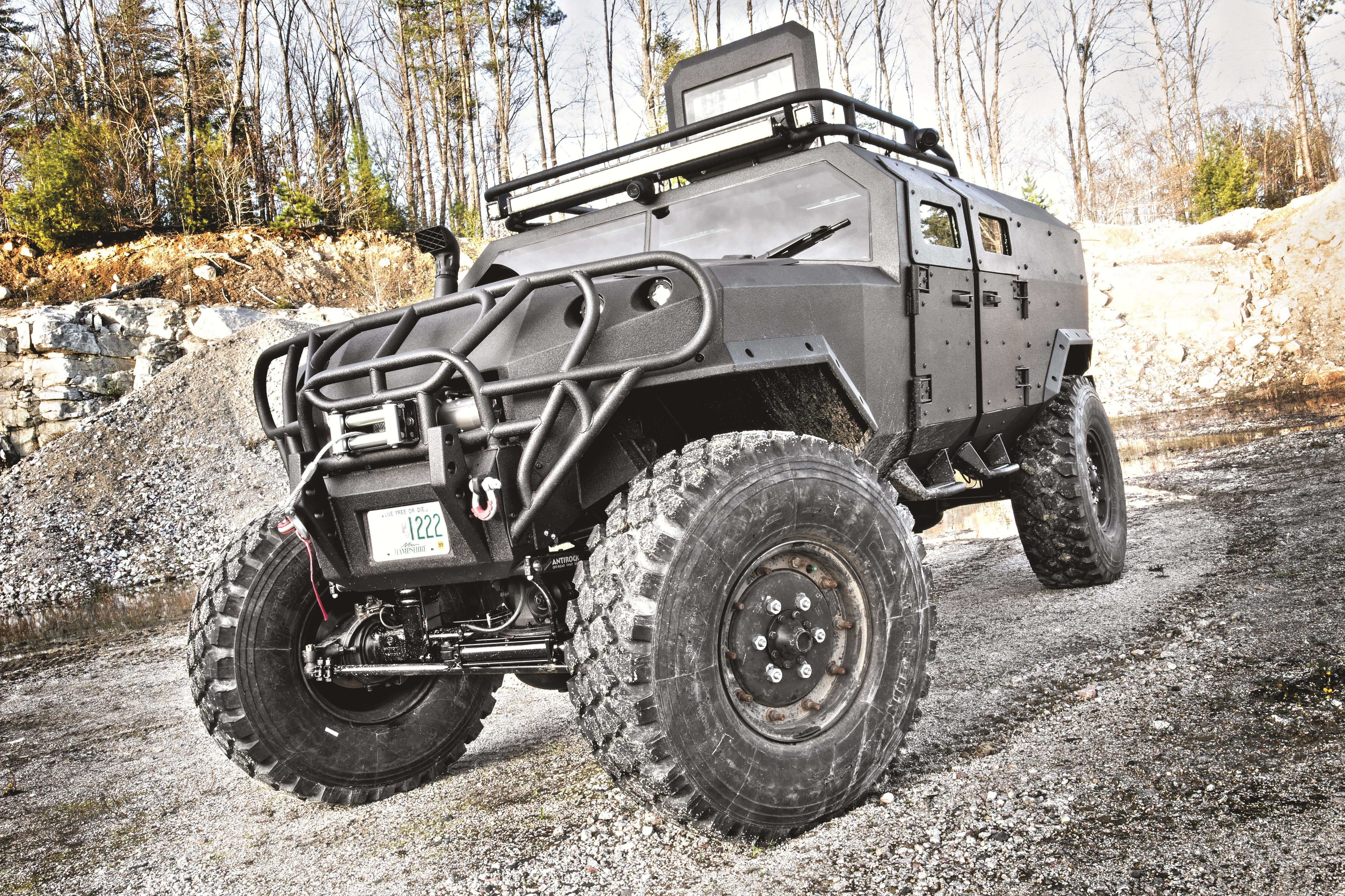 The Lucky Gunner Garage PSV is a formidable and capable vehicle that's ideal for when the SHTF.