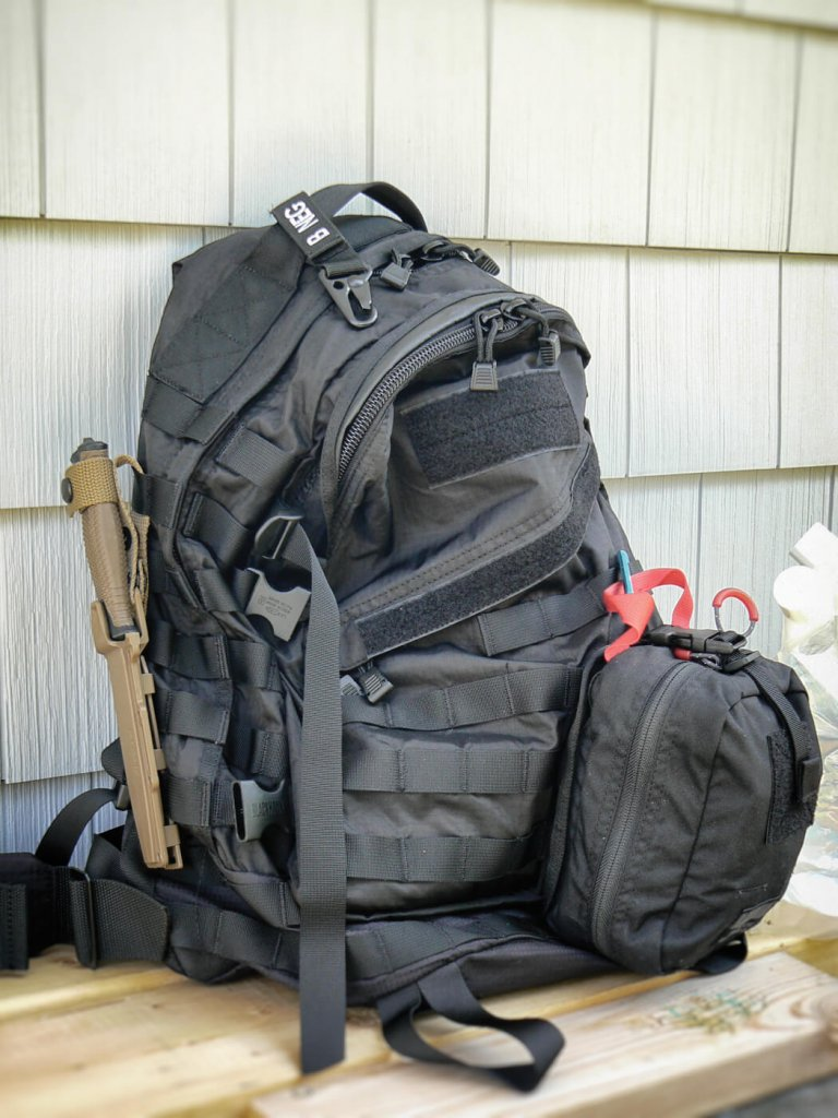 gearing out properly with a fully equipped bugout bag