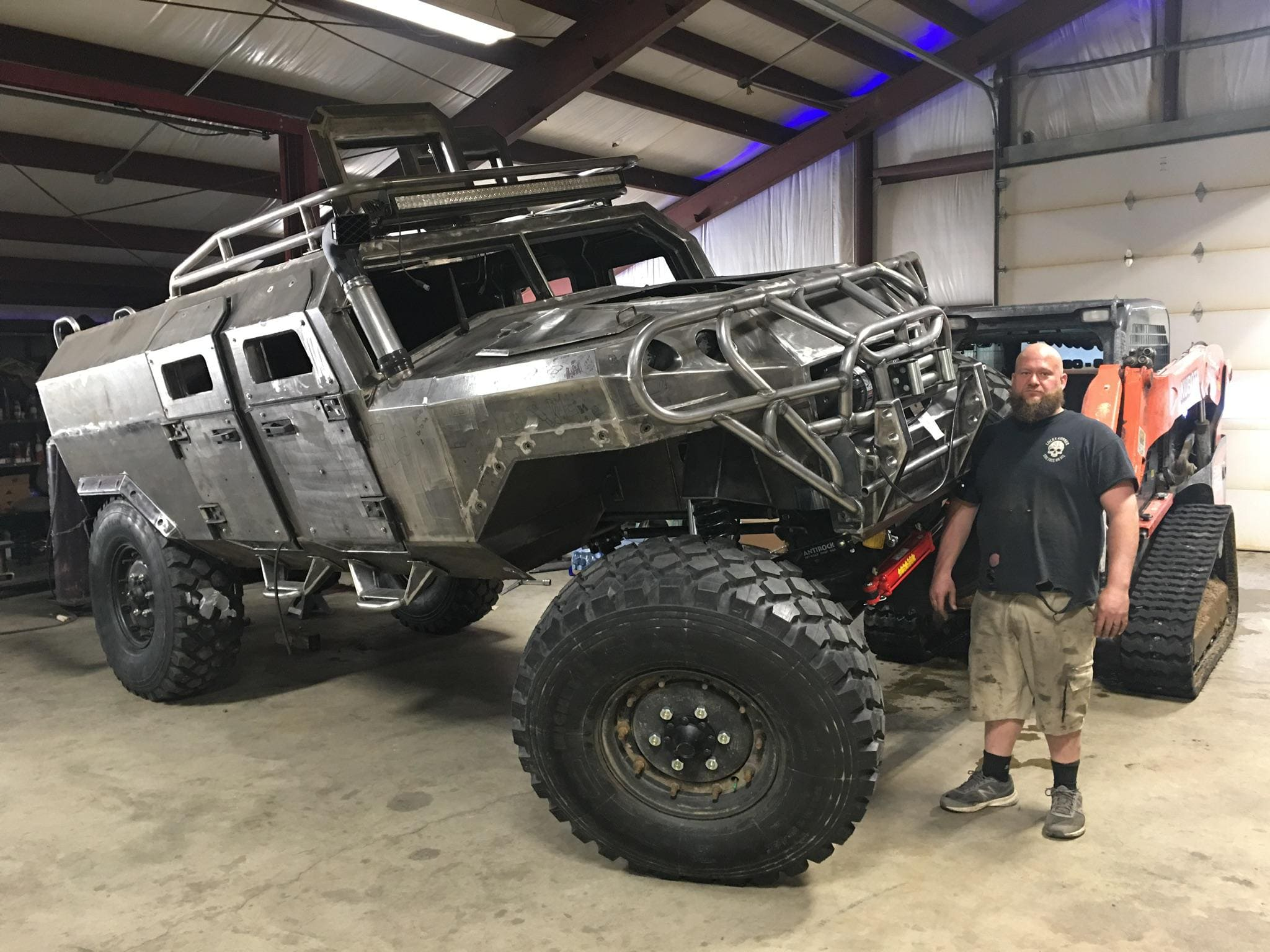 The Personal Survival Vehicle from Lucky Gunner Garage was custom-built from scratch for its singular mission.
