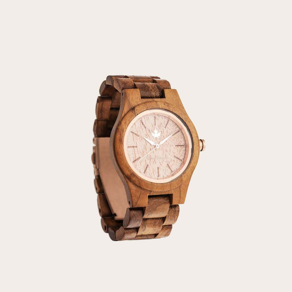 Wood watch for Christmas gifts