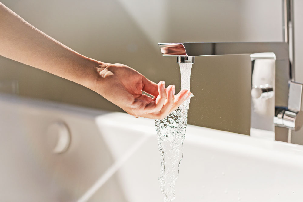 When filling your bathtub with water for an emergency, use the cold tap only.