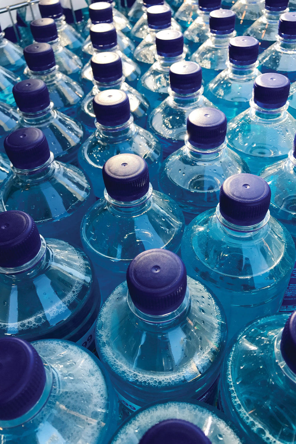bottled water will remain fresh for years.
