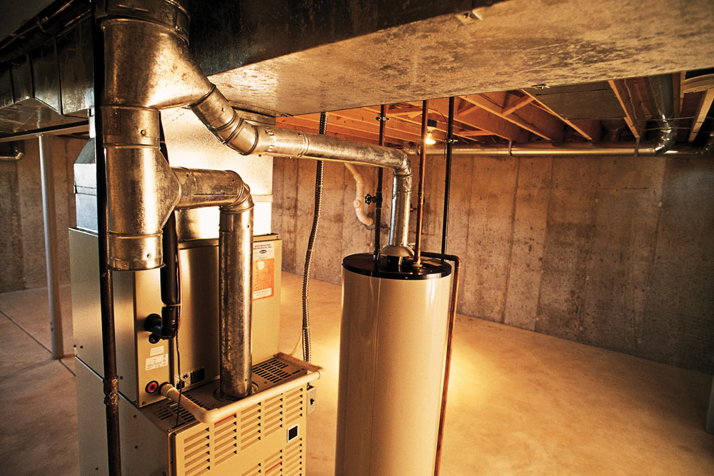 A tank-style water heater