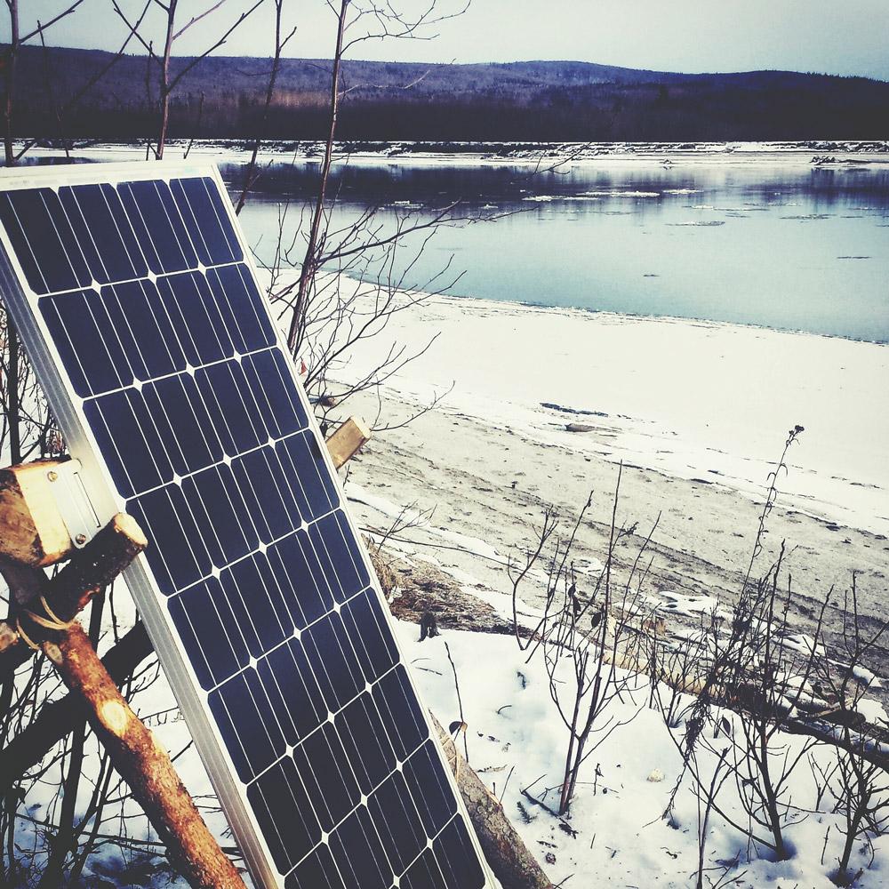 100-watt solar panels