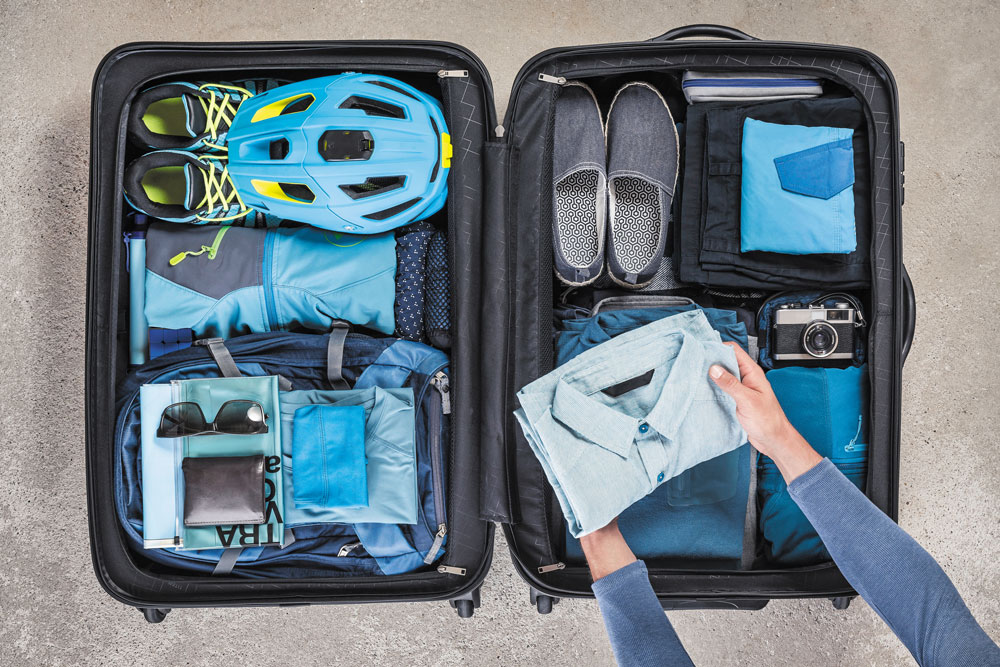 A good travel kit starts out with a solid piece of luggage.