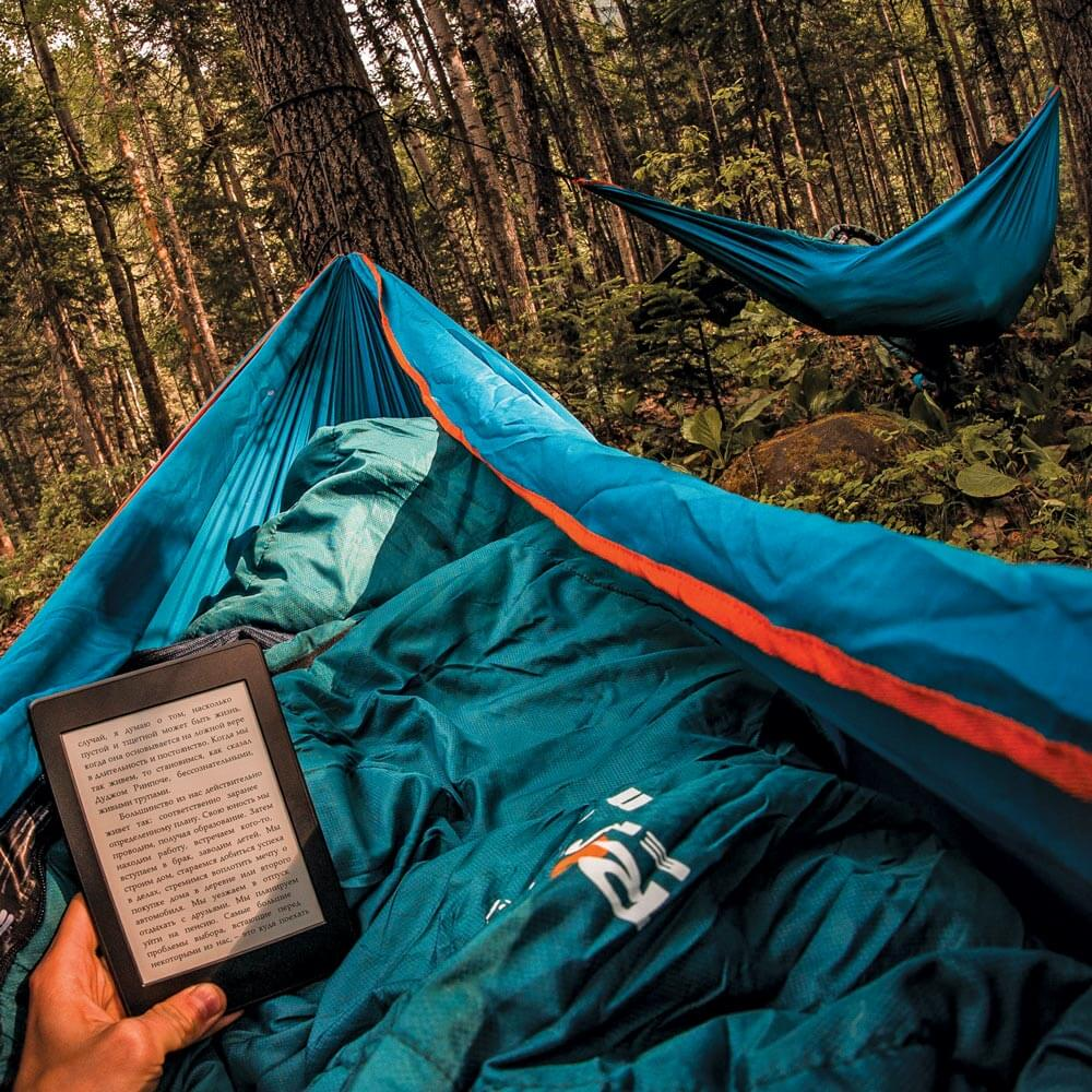 A hammock is a great way to address your shelter and sleep system needs.