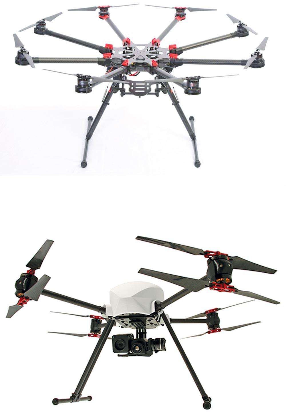 Octo-drone