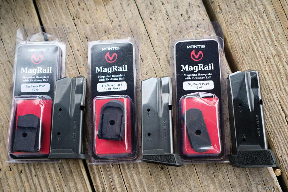 Mantis offers a wide variety of replacement magazine floorplates