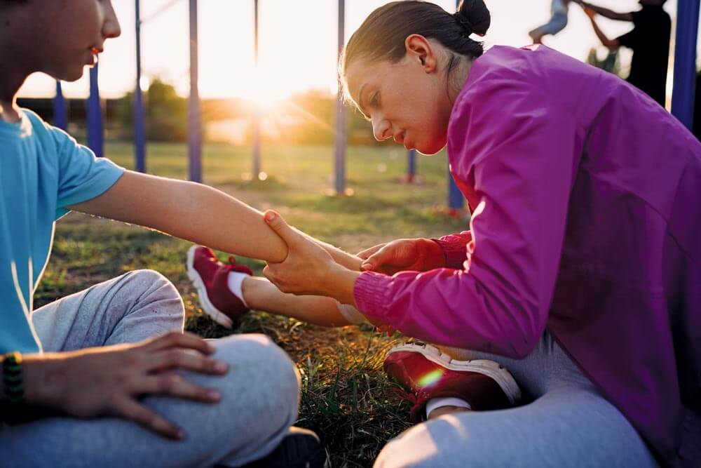 First aid is something you can practice anytime during your practice excursion.