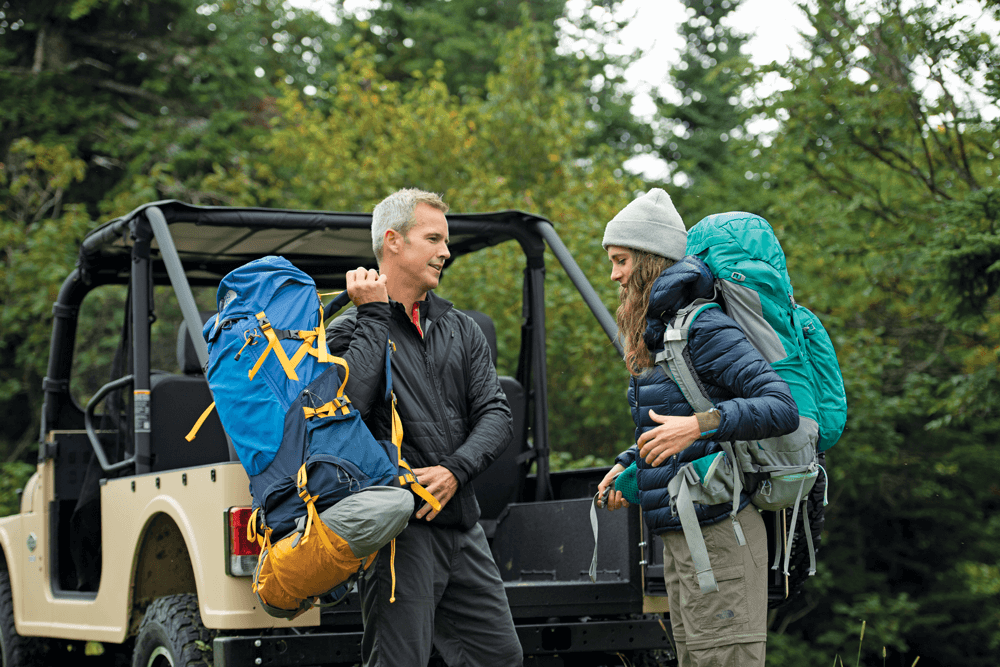The ROXOR can be used as a way to get to a remote starting point for your next adventure.