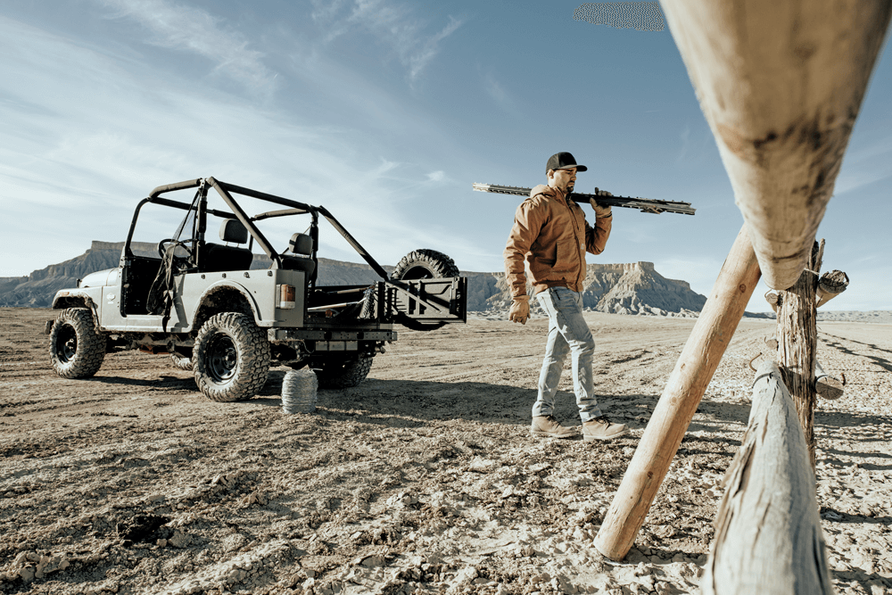 The ROXOR, when used around the ranch or worksite, has big advantages over side-by-side UTVs
