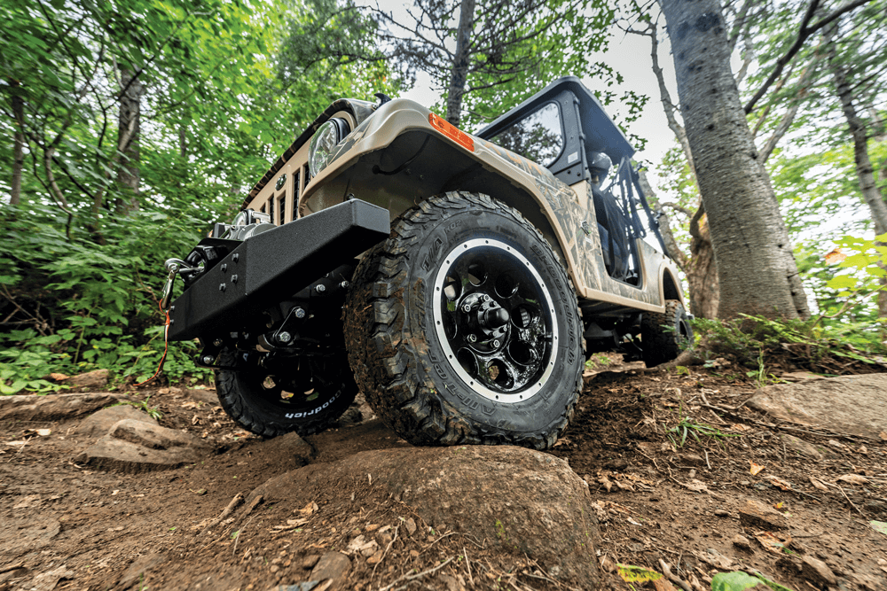 The basic ROXOR offers 9 inches of ground clearance