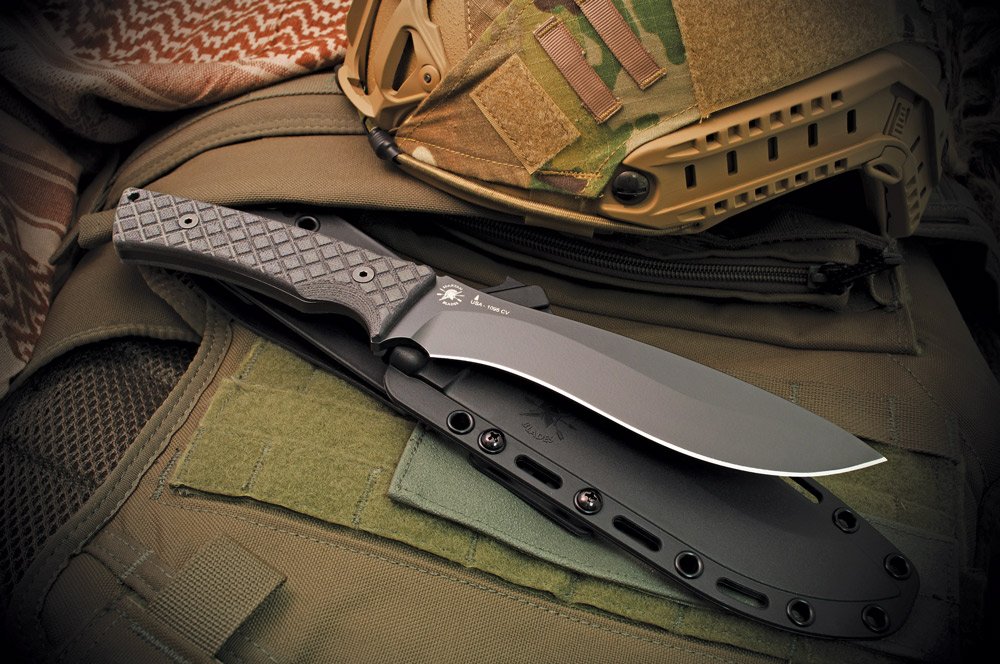 The Machai is a very handsome knife—but it's not so pretty that you'll be afraid to get it dirty. (Photo: Spartan Blades)