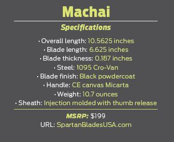 Machai Specifications