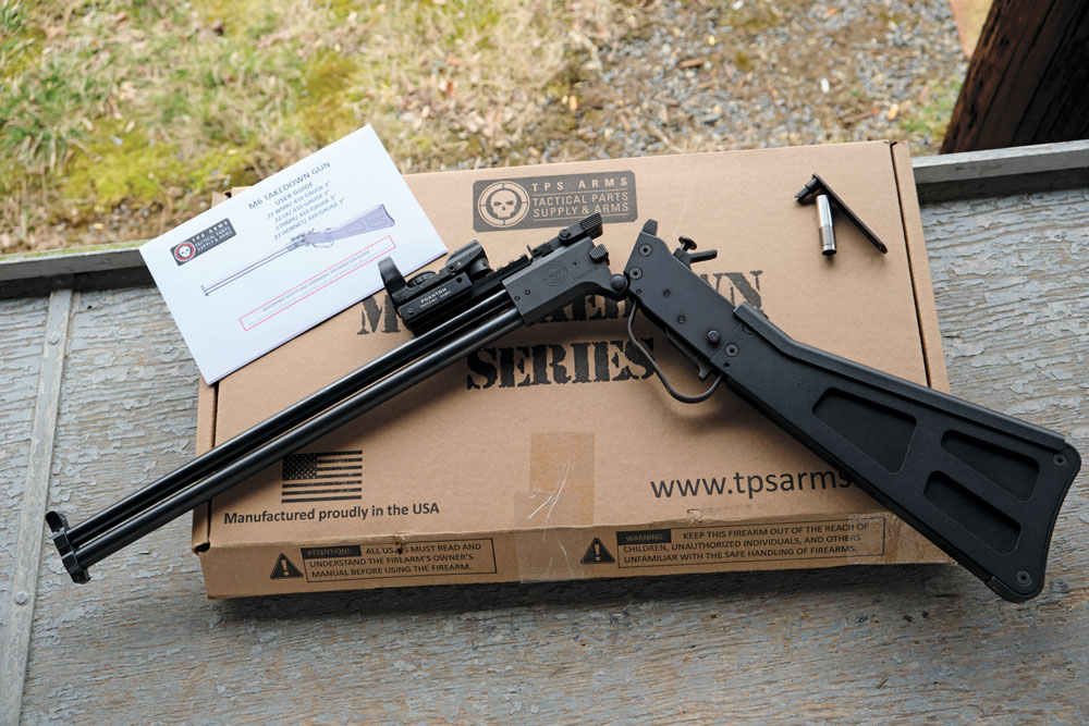 Minus the optic, this is what comes in the box with a new TPS Arms M6.