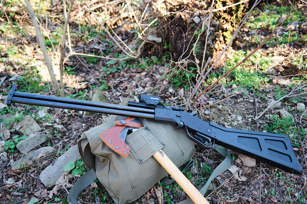The M6 Scout is a rugged, lightweight hunting weapon that's capable of taking a wide variety of game animals.