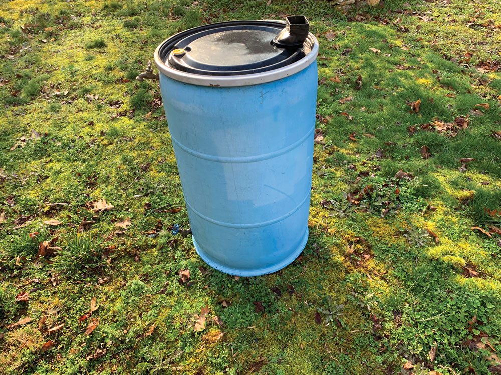 You can find a used, large, food-grade barrel locally or online quite easily.